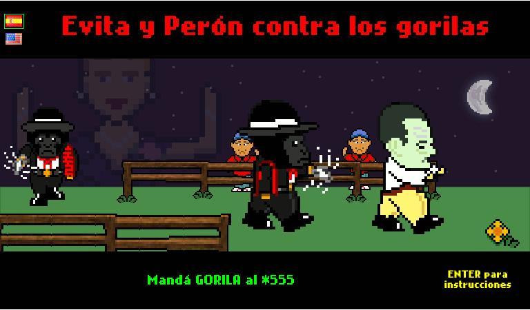 Evita y Perón contra los gorilas (1/2)